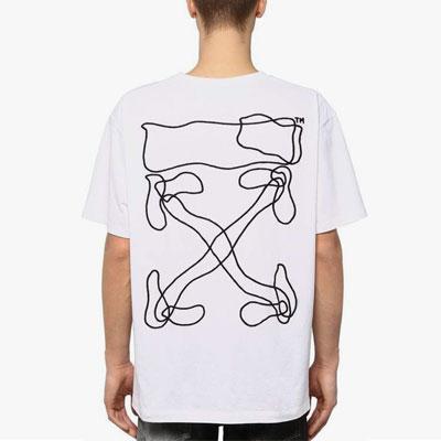 [UNISEX]ウェーブアロー刺繍半袖Tシャツ(2color)