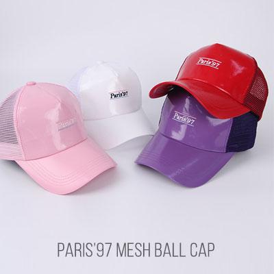 [UNISEX]パリス97メッシュボールキャップ(4color)