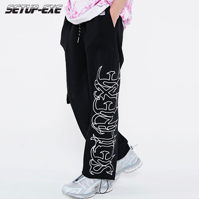 【SETUP-EXE】Spider Pants - black