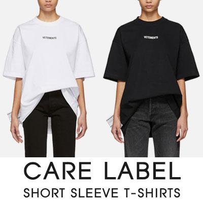 [UNISEX]ケアラベル半袖Tシャツ(4color)