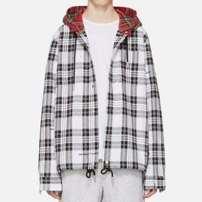 [UNISEX]レッド&グレープレイドフードシャツ(2size)