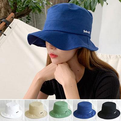 [UNISEX]BEFORE LOGO BUCKET HAT(5color)