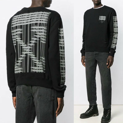 [UNISEX]インダストリアルアロースウェットシャツ(2color)