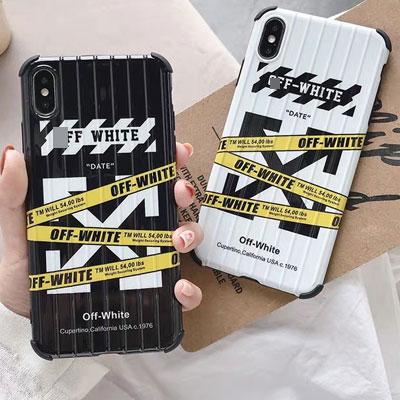 イエローテープアローiPhoneケース/スマホケース (2color)