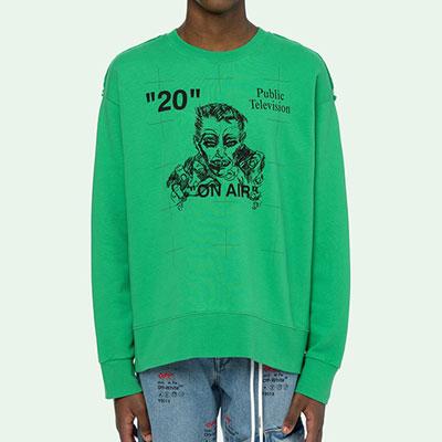 [UNISEX]20MAN FACEドローイングスウェットシャツ(3color)