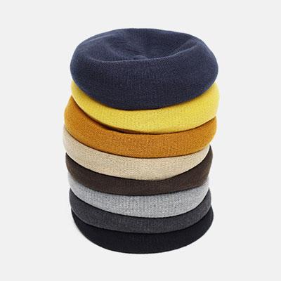 [UNISEX]キャンディーニットベレー帽(8color)