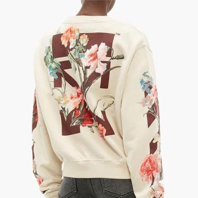 [UNISEX] マルチフローラルプリントスウェットシャツ (2color)