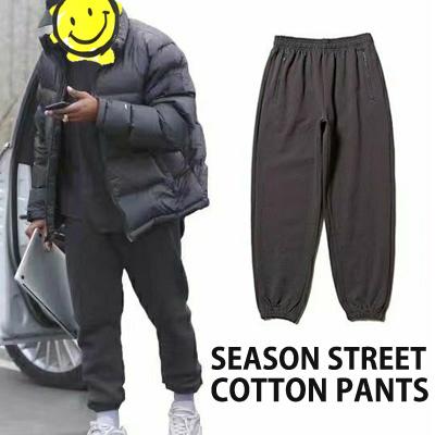 [UNISEX] Kanye West/Kim Kardashian st. シーズンストリートコットンパンツ (3color)
