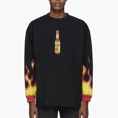 [UNISEX] ファイアホットソーススウェットシャツ (2color)