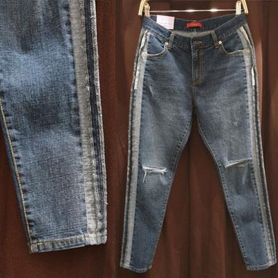 サイドラインポイントダメージジーンズ (3size)