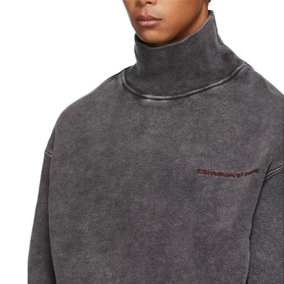 [UNISEX] ¥タウンタートルネックスウェットシャツ (2color)