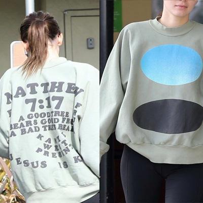 [UNISEX] ジーザス・イズ・キングマタイスウェットシャツ