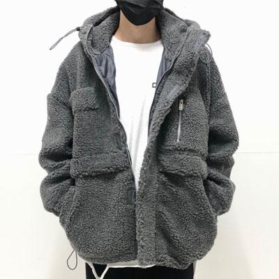 [UNISEX] ヘビービッグボアファージャケット (2color)