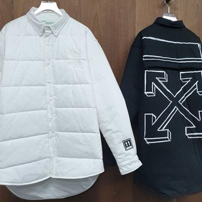 [UNISEX] アロー中綿シャツジャケット  (2color)