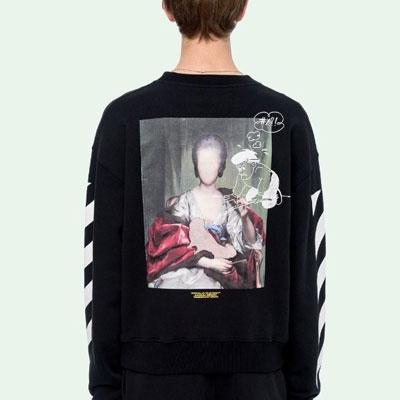 [UNISEX] マリアナポートレートプリントスウェットシャツ
