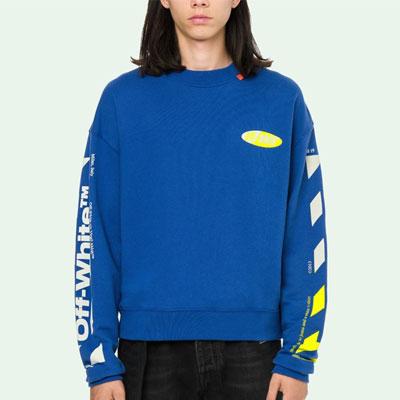 [UNISEX] イエローアローブルースウェットシャツ