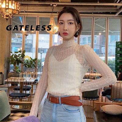 【GATELESS】レースブラウス (2color)