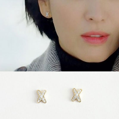 韓国ドラマ「ボーイフレンド」ソンヘギョ st. ミニX925ポストピアス (3color)