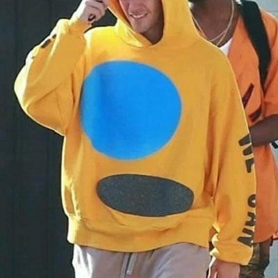 [UNISEX] Justin Bieber/ジャスティンビーバー st. ダブルサークルフーディー