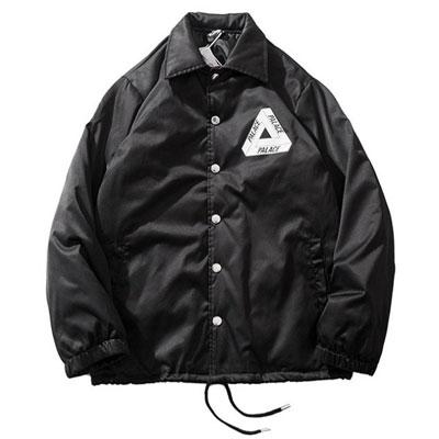 [UNISEX] トライアングルコーチ中綿ジャケット