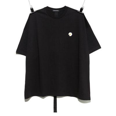 [UNISEX] デイジー刺繍Tシャツ