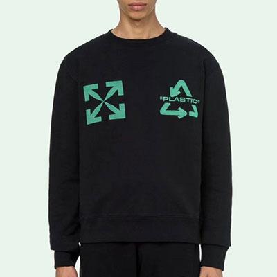 [UNISEX] リサイクルプラスチックスウェットシャツ (3size)