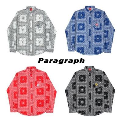 [Paragraph] マルチバンダナシャツ (4color)