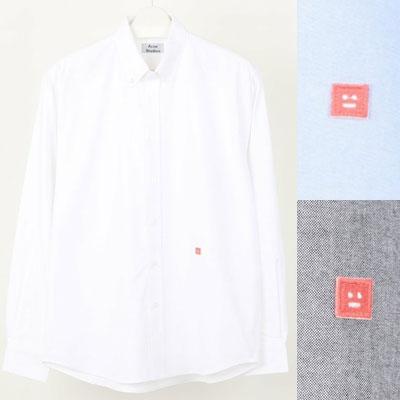 [UNISEX] ピンクスマイルパッチシャツ (3color)