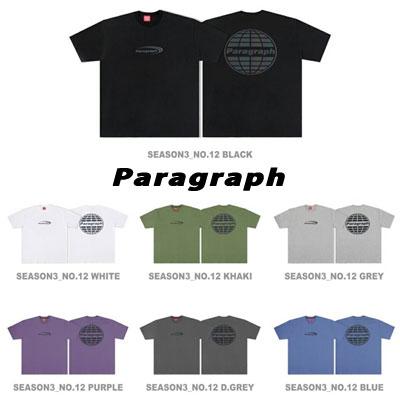 [Paragraph] ニューロゴスコッチTシャツ (7color)