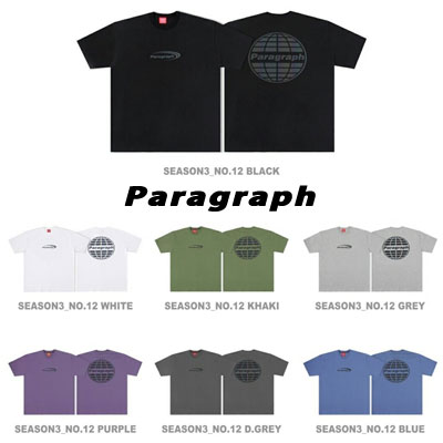 [Paragraph] ニューロゴスコッチTシャツ (7color)
