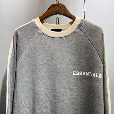 [UNISEX] スリーブラインESSENTIALSスウェットシャツ (2color)