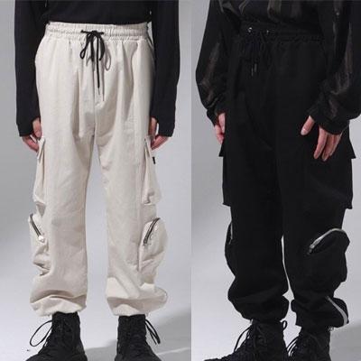 [UNISEX] 2TYPE ポケットパンツ (2color)