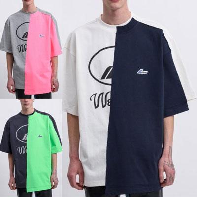 [UNISEX] リワークハーフダブルTシャツ/半袖 (3color)