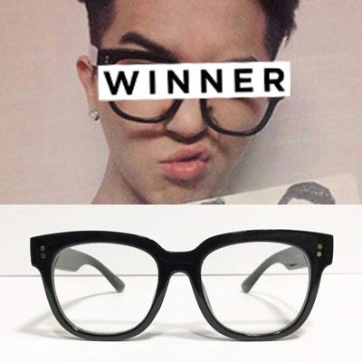 [UNISEX] Winner/mino/Songmino/ウィナー/ミノ st. ボールドフレーム眼鏡 (3color)