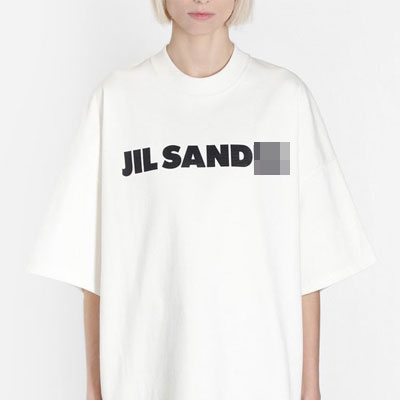 [UNISEX] キャピタルレタリングTシャツ/半袖 (2color)