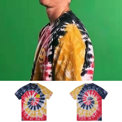 [UNISEX] スマイルポイントタイダイTシャツ/半袖