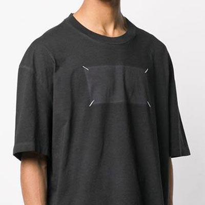 [UNISEX] ステッチボックスTシャツ/半袖 (2color)