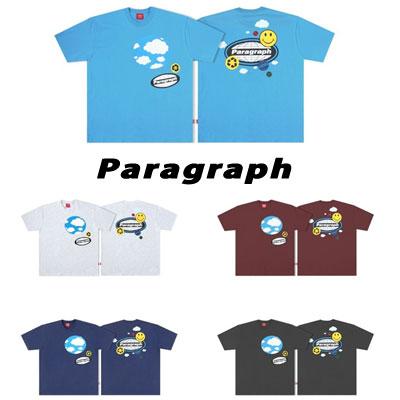 [Paragraph] スマイルフォームTシャツ/半袖 (5color)