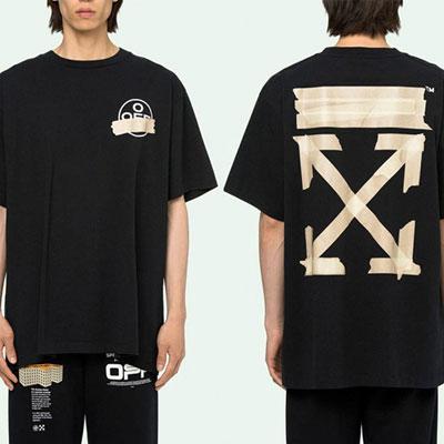 [UNISEX] テープアローTシャツ (3color)