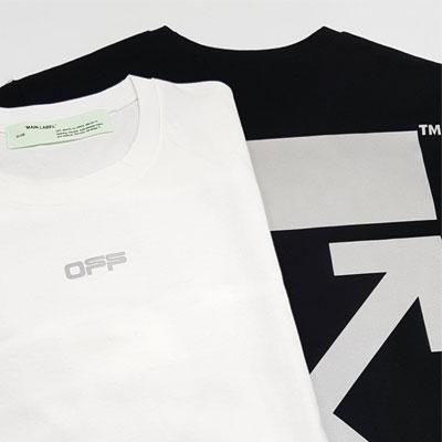 [UNISEX] リフレクターアローTシャツ/半袖 (2color)
