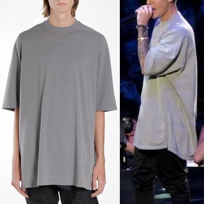 [UNISEX] Justin Bieber/ジャスティンビーバー st. ハードショルダーオーバーサイズtシャツ/半袖 (2color)