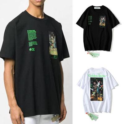 [UNISEX] ゴールデンレシオプリントTシャツ/半袖 (2color)