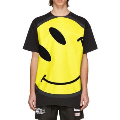 [UNISEX] ビッグスマイリーTシャツ/半袖 (2color)