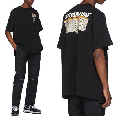 [UNISEX] 3D FビルTシャツ/半袖 (2color 2size)