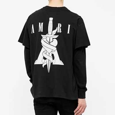 [UNISEX] ダガーハートTシャツ/半袖