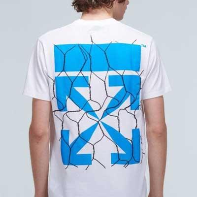 [UNISEX] フェンスアローTシャツ/半袖 (2color)