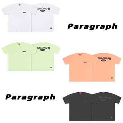 [Paragraph] チームスコッチtシャツ/半袖 (4color)