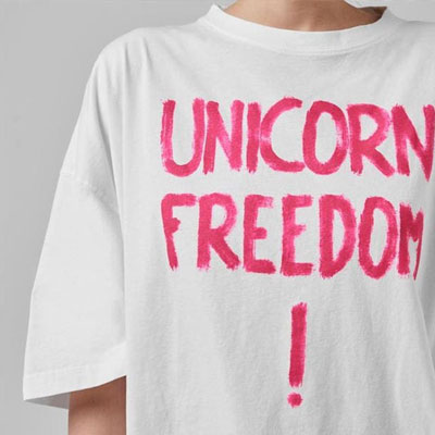 [UNISEX] フリーダム!Tシャツ/半袖
