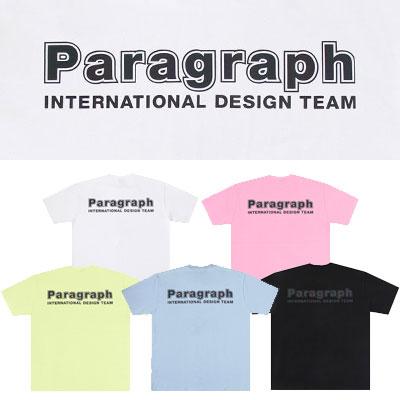 [PARAGRAPH] インターナショナルスコッチTシャツ/半袖 (5color)