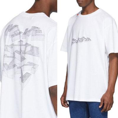 [UNISEX] ペンシルアローTシャツ/半袖 (2color)